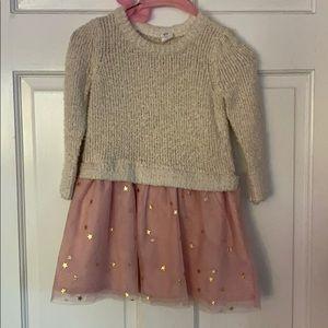 Girls 3t sweater/tulle dress